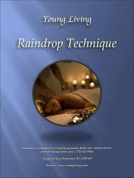 raindrop technique protocol