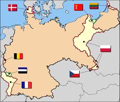 Europe Map Ww1 by