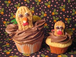 thanksgiving cupcake decorating ideas pictures of thanksgiving desserts for kids popsugar moms