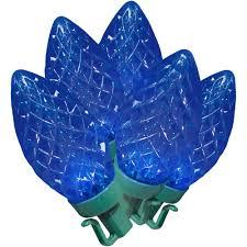 blue christmas lights walmart com holiday time led super bright
