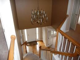 Foyer Lighting Ideas by Replacing Chandelier Entry Is 2 Stories Tall Phone Painting