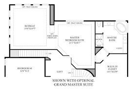 Dual Master Bedroom Floor Plans by Parker Co New Homes For Sale The Highlands At Parker