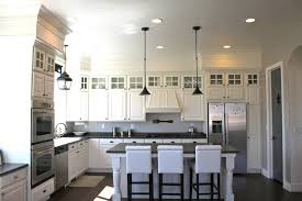 Lighting Above Kitchen Cabinets Mahogany Wood Sage Green Shaker Door Soffit Above Kitchen Cabinets