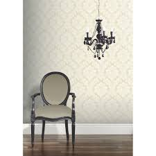 Living Room Art House Arthouse Da Vinci Damask Pattern Traditional Designer Wallpaper 405101
