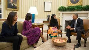 malala confronts obama over drones ktla