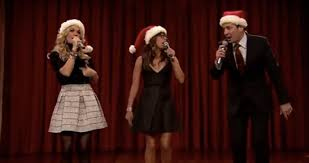 jimmy fallon carrie underwood and rashida jones sing