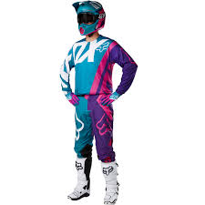 new jersey motocross fox racing 2017 mx new 360 creo teal purple jersey pants motocross