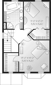 amsden narrow lot home plan 032d 0266 house plans and more