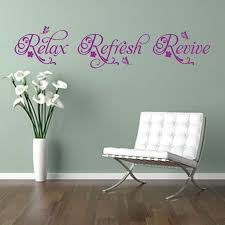 Bathroom Quotes For Walls 41 Best Quotes Wall Stickers Images On Pinterest Quote Wall