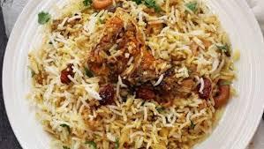 Biryani Decoration Gosht Motia Pulao Recipe Ndtv Food