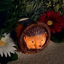 hedgehog solar garden light animal decoration outdoor solar