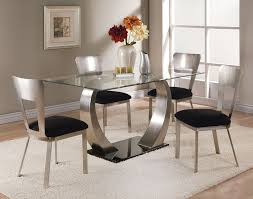 Round Glass Top Dining Table Set Furniture Endearing Round Glass Dining Table Brings A Family
