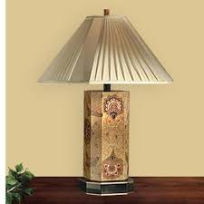 distressed wood table lamp wayfair