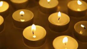 how long do tea lights burn candle lights background tea light candles decoration stock video