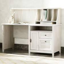 White Desk With Hutch Computer Desks Birch Lane