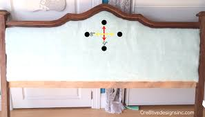 How To Tuft A Headboard by Diy Blue Tufted Headboard Cre8tive Designs Inc