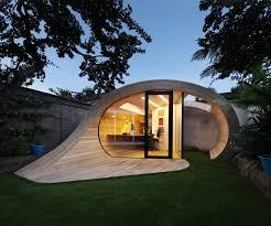exterior backyard garden modern storage shed office interior
