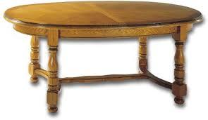 table ovale avec rallonge tables de séjour en bois massif de meublaffairmeubles à rochefort