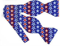 white and blue bows patriotic americana bow ties bow tie expressions