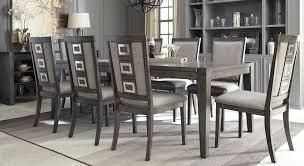 dark grey dining room tags extraordinary grey wood kitchen table