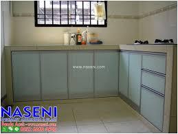Kitchen Set Aluminium Naseni Aluminium Dan Kaca Kitchen Set
