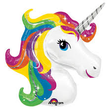 halloween foil balloons unicorn jumbo foil balloon birthdayexpress com