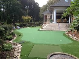 Putting Green In Backyard by Backyard Putting Greens North Carolina Carolina Outdoor Golf Greens