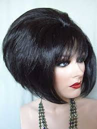 pixie hair cuts on wetset hair darkest brown alba drag queen wig chin length beehive big sexy