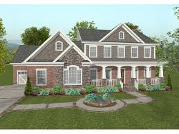 craftsman home plan chancellor craftsman home plan 013d 0173 house plans and more