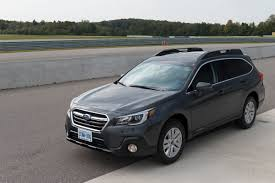 subaru outback custom bumper 2018 subaru outback review first drive a refresh with major updates