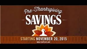 pre thanksgiving ad is not costco s black friday 2015 ad