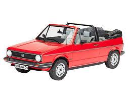 amazon com 1 24 revell vw golf 1 cabrio toys u0026 games
