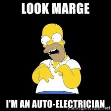 Auto Meme Generator - look marge i m an auto electrician look marge meme generator