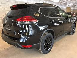 black nissan new 2017 nissan rogue awd 4dr sv 4 door sport utility in oakville