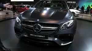 E63 Amg Interior 2018 Mercedes Amg E63 S Exterior And Interior Walkaround 2017