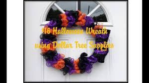 16 halloween wreath with dollar tree supplies youtube