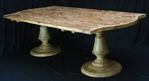 Pedestal Base For Granite Table Rustic Granite Table Bases Rustic Dining Table Antique