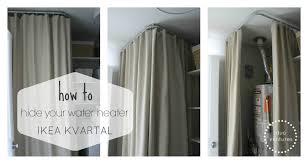duo ventures hide your water heater ikea kvartal system