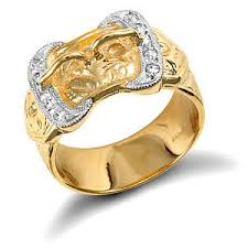 mens gold ring buckle ring men s gold buckle ring heavy solid yellow gold