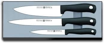 meilleur couteau cuisine coffret de 3 couteaux wusthof silverpoint conseils couteaux de