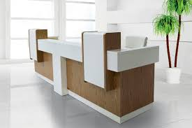 Modular Reception Desks Modular Reception Desk Wooden Sirus Solenne Office Furniture