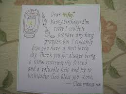 file handwritten birthday card jpg wikimedia commons