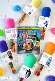 party favors candy microphone party favors sing tags