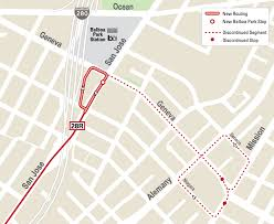 San Francisco Streetcar Map Muni To Launch Next Big Shakeup This Saturday Changing Routes