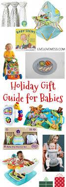 gift guide for babies up to age one live mess