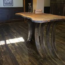 the wood floor we just finished has a unique utilitarian function