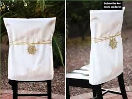 christmas chair covers chair covers diy decoration picture ideas for december