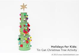tin can tree activity babble dabble do