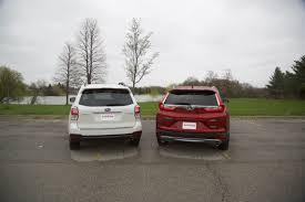 subaru minivan 2017 honda cr v vs 2017 subaru forester autoguide com news