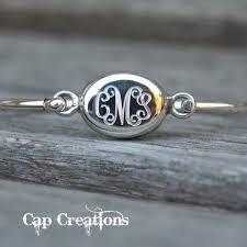 sterling silver monogram bracelet 21 best julie jerman melke jewelry images on jewelry